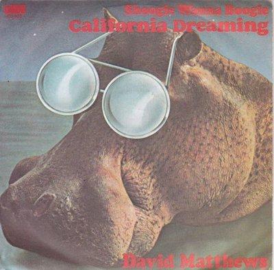 David Matthews - Shoogie Wanna Boogie + California Dreaming (Vinylsingle)
