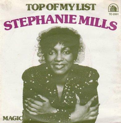 Stephanie Mills - Top Of My List + Magic (Vinylsingle)
