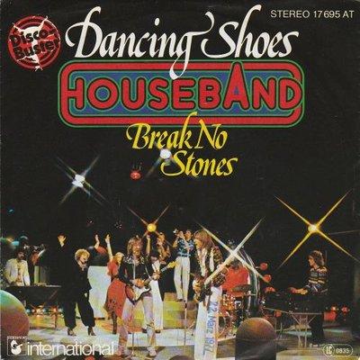 Houseband - Dancing Shoes + Break No Stones (Vinylsingle)