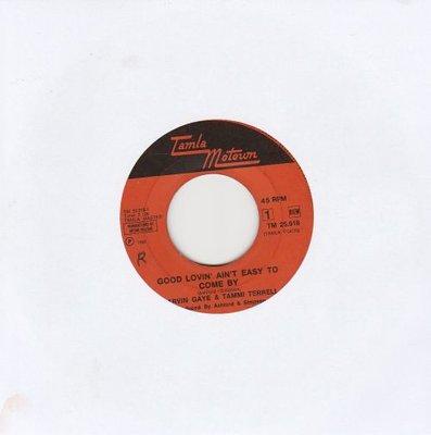 Marvin Gaye & Tammi Terrell - Good lovin' ain't easy to come by + Satisfied feelin' (Vinylsingle)