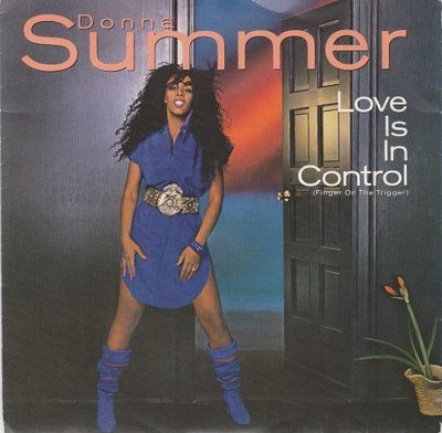 Donna Summer - Love is in control + Sometimes like butter. (Vinylsingle)