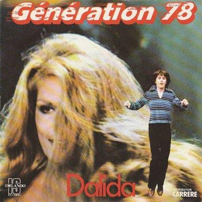 Dalida - Generation 78 + (part II) (Vinylsingle)