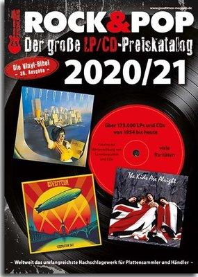 Prijs catalogus CD's en LP's, editie 2020-2021  - per stuk