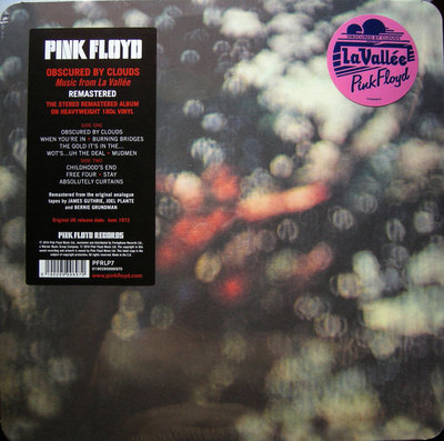 PINK FLOYD - OBSCURED BY CLOUDS -REMAST- (Vinyl LP)