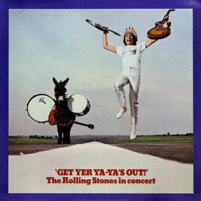 ROLLING STONES - GET YER YA-YA'S OUT -HQ V (Vinyl LP)