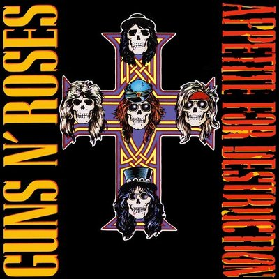 GUNS N' ROSES - APPETITE FOR DESTRUCTION -HQ- (Vinyl LP)