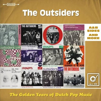 OUTSIDERS - GOLDEN YEARS OF DUTCH POP MUSIC (Vinyl LP)