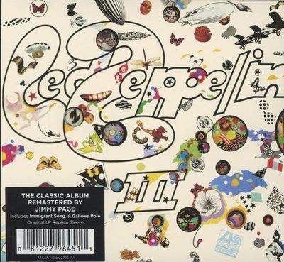 LED ZEPPELIN - III -HQ/REMASTERD (Vinyl LP)