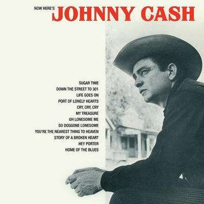 JOHNNY CASH - NOW HERE'S JOHNNY.. -HQ- (Vinyl LP)