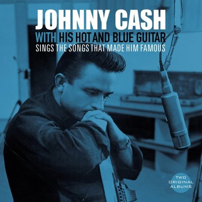 JOHNNY CASH - WITH HIS HOT AND BLUE GUITAR (Vinyl LP)