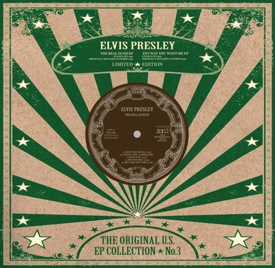 ELVIS PRESLEY - ORIGINAL E.P. COLLECTION VOL. 3 (LTD) (Vinyl LP)