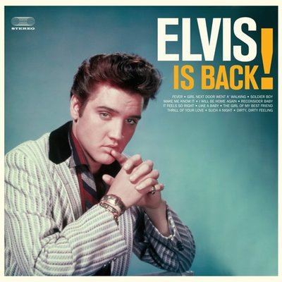 Elvis Presley - ELVIS IS BACK -COLOURED VINYL- (Vinyl LP)