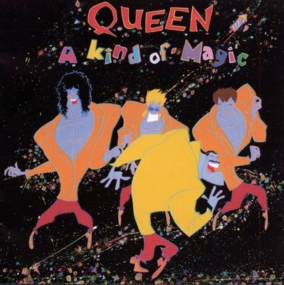 QUEEN - A KIND OF MAGIC (Vinyl LP)