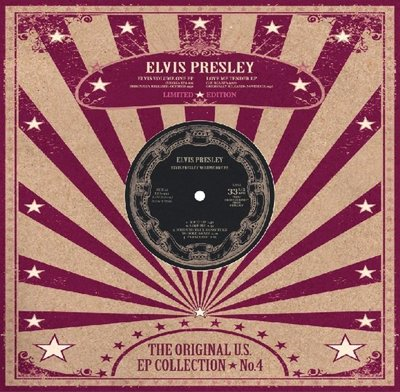 "ELVIS PRESLEY - THE ORIGINAL U.S. EP COLLECTION NO. 4 (10"" VINYL) (Vinyl LP)"