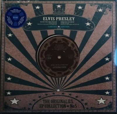 "ELVIS PRESLEY - THE ORIGINAL U.S. EP COLLECTION NO. 5 (10"" VINYL) (Vinyl LP)"
