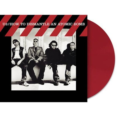 U2 - HOW TO DISMANTLE AN ATOMIC BOMB -RED VINYL- (Vinyl LP)