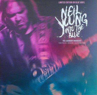 NEIL YOUNG - INTO THE BLUE -COLOURED VINYL- (Vinyl LP)