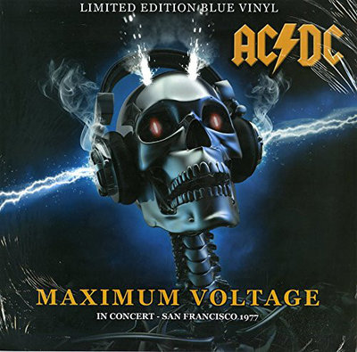 AC/DC - MAXIMUM VOLTAGE -COLOURED VINYL- (Vinyl LP)