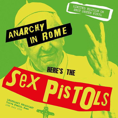 SEX PISTOLS - ANARCHY IN ROME -COLOURED VINYL (Vinyl LP)
