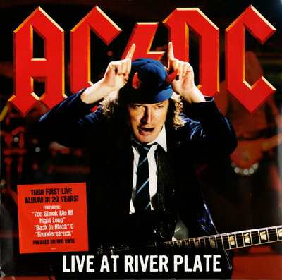 AC/DC - LIVE AT RIVER PLATE -COLOURED- (Vinyl LP)