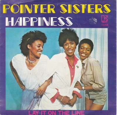 Pointer Sisters - Happiness + Lay it on the line (Vinylsingle)