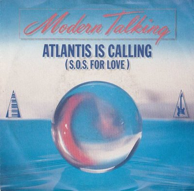 Modern Talking - Atlantis is calling + (instr.) (Vinylsingle)