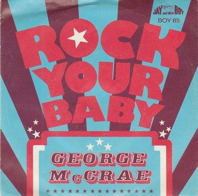 George McCrae - Rock your baby + (part II) (Vinylsingle)