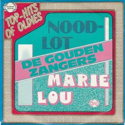 Gouden Zangers - Noodlot + Marie Lou (Vinylsingle)
