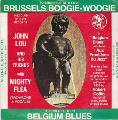 John Lou - Brussels Boogie Woogie + Belgium Blues (Vinylsingle)