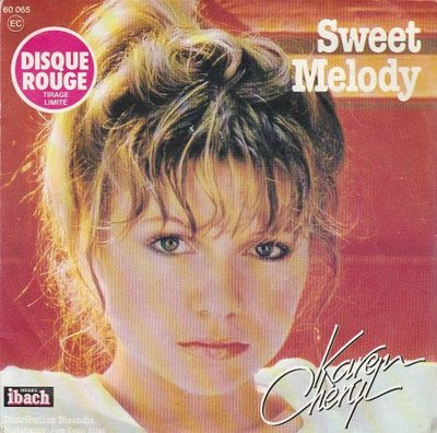 Karen Cheryl - Sing To Me Mama + There's A Sweet Melody (Vinylsingle)