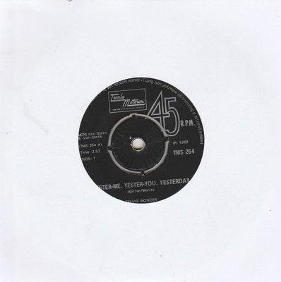 Stevie Wonder - Yesterme. yesteryou. yesterday + I'd be a fool (Vinylsingle)