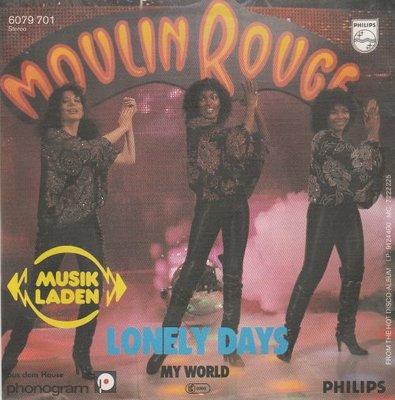 Moulin Rouge - Lonely Days + My World (Vinylsingle)