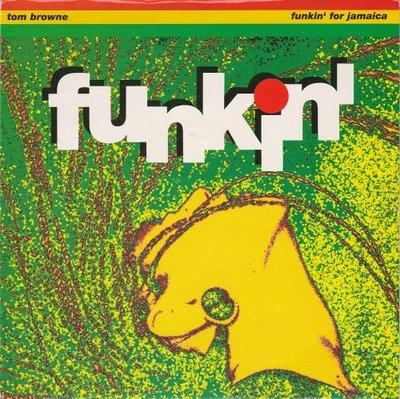 Tom Browne - Funkin' for Jamaica  (1991 remix) + (orginal version) (Vinylsingle)