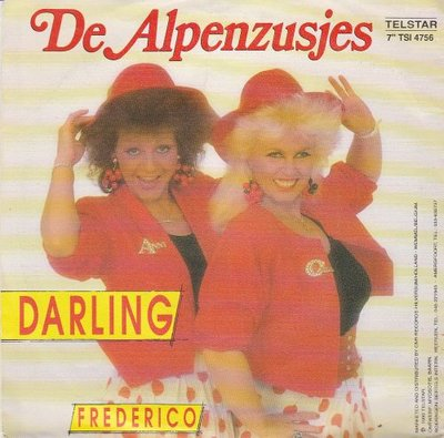 Alpenzusjes - Darling + Frederico (Vinylsingle)