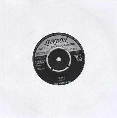 Amos Milburn - Gloria + Look at a fool (Vinylsingle)