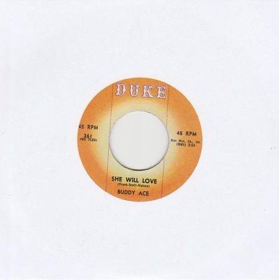 Buddy Ace - She Will Love + Good Lover (Vinylsingle)