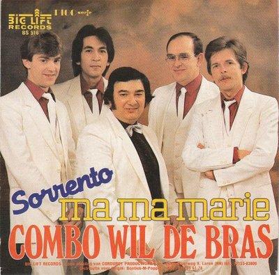 Combo Wil de Bras - Ma ma Marie + Sorrento (Vinylsingle)
