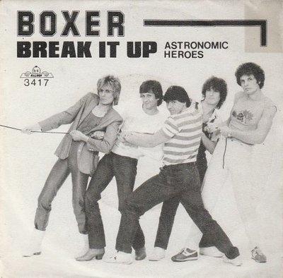 Boxer - Break It Up + Astronomic Heroes (Vinylsingle)