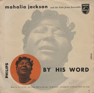 Mahalia Jackson - By His Word (EP) (Vinylsingle)