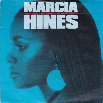 Marcia Hines - Your love still brings me to my knees + All the things (Vinylsingle)