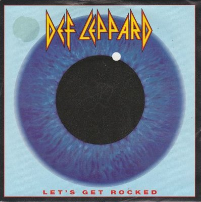 Def Leppard - Let's get rocked + Only after dark (Vinylsingle)