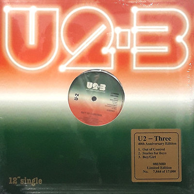 U2 - THREE -40TH ANNIVERSARY EDITION- (Vinyl LP)