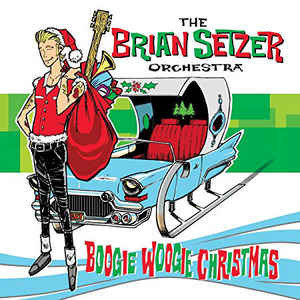 BRIAN SETZER ORCHESTRA - BOO WOOGIE CHRISTMAS -COLOURED- (Vinyl LP)