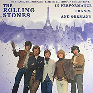 ROLLING STONES - IN PERFORMANCE FRANCE AND GERMANY -COLOURED- (Vinyl LP)