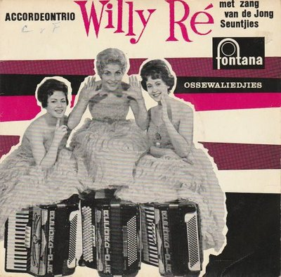 Accordeontrio Willy Re - Ossewaliedjes (EP) (Vinylsingle)