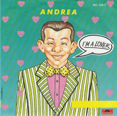 Andrea - I'm a lover + (instr.) (Vinylsingle)