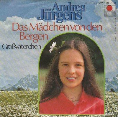 Andrea Jurgens - Das machen von den bergen + Grossvaterchen (Vinylsingle)