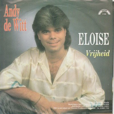Andy de Witt - Eloise + Vrijheid (Vinylsingle)
