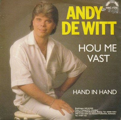 Andy de Witt - Hou Me Vast + Hand In Hand (Vinylsingle)
