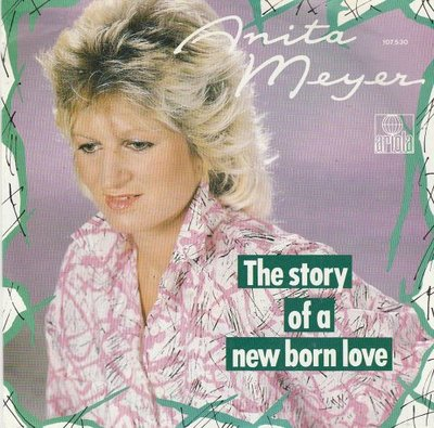 Anita Meyer - The story of a new born love + Images of you (Vinylsingle)